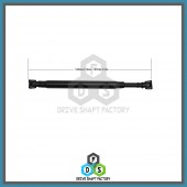 Rear Propeller Drive Shaft Assembly- DS4R11