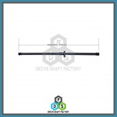 Rear Propeller Drive Shaft Assembly - DSCR97