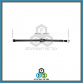 Rear Propeller Drive Shaft Assembly - DSES09