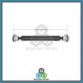 Front Propeller Drive Shaft Assembly - DSG307