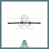Rear Propeller Drive Shaft Assembly - DSHI08