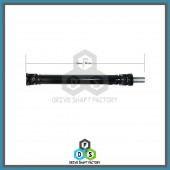 Front Section of the Rear Propeller Drive Shaft Assembly - DSHI09