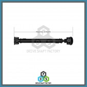 Front Propeller Drive Shaft Assembly - DSRR86