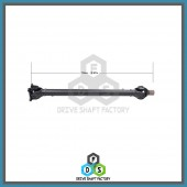 Front Propeller Drive Shaft Assembly - DSX313
