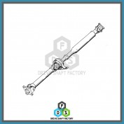 Rear Propeller Driveshaft - DSGC09