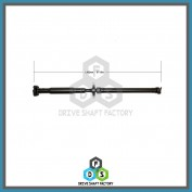 Rear Propeller Drive Shaft Assembly - DS3206