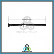 Rear Propeller Drive Shaft Assembly - DS3301