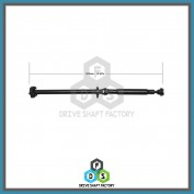 Rear Propeller Drive Shaft Assembly - DS5306