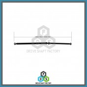 Rear Propeller Driveshaft Assembly - DS7S01