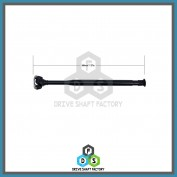 Front Propeller Drive Shaft Assembly - DSC315