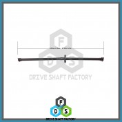 Rear Propeller Drive Shaft Assembly - DSCR10