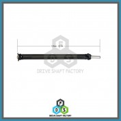 Rear Propeller Drive Shaft Assembly - DSF105