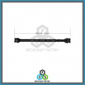 Front Propeller Drive Shaft Assembly - DSF197