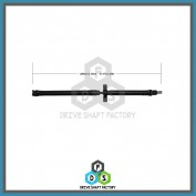 Rear Propeller Driveshaft Assembly - DSFO13