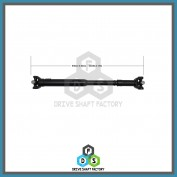 Front Propeller Drive Shaft Assembly - DSGM95