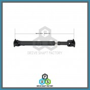 Front Propeller Drive Shaft Assembly - DSGX03