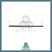 Rear Propeller Drive Shaft Assembly - DSMD07