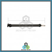 Rear Propeller Drive Shaft Assembly - DSMO03