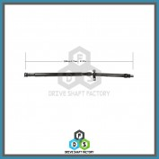 Rear Propeller Drive Shaft Assembly - DSOP18