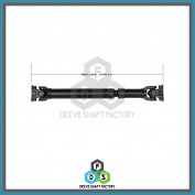 Front Propeller Drive Shaft Assembly - DSPA96