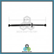 Rear Propeller Drive Shaft Assembly - DSQ713