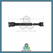 Front Propeller Drive Shaft Assembly - DSR213