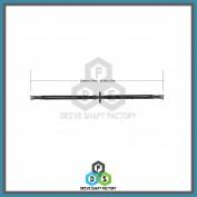 Rear Propeller Drive Shaft Assembly - DSRL09