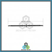 Rear Propeller Drive Shaft Assembly - DSLR09