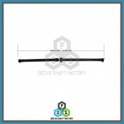 Rear Propeller Drive Shaft Assembly - DSRO08