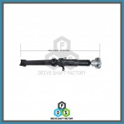 Rear Propeller Drive Shaft Assembly - DSRS07