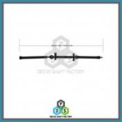 Rear Propeller Drive Shaft Assembly - DSRX10