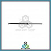 Rear Propeller Drive Shaft Assembly - DSS603