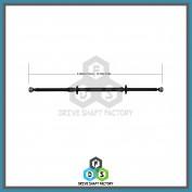 Rear Propeller Drive Shaft Assembly - DSS609