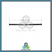 Rear Propeller Drive Shaft Assembly - DSSF03