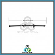 Front, Middle & Rear Sections of the Rear Propeller Drive Shaft Assembly - DSSI04