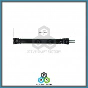 Front Section of the Rear Propeller Drive Shaft Assembly - DSSI12
