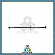 Rear Propeller Drive Shaft Assembly - DSTU10