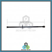 Rear Propeller Drive Shaft Assembly - DSVU03
