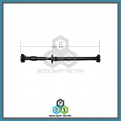 Rear Propeller Drive Shaft Assembly - DSX115