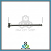 Front Propeller Drive Shaft Assembly - DSX500