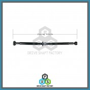 Rear Propeller Drive Shaft Assembly -  DSX501