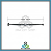 Rear Propeller Drive Shaft Assembly - DSX502