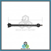 Front Propeller Drive Shaft Assembly - DSX516