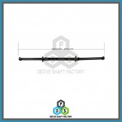Rear Propeller Drive Shaft Assembly - DSXC16