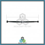 Rear Propeller Drive Shaft Assembly - DSXR16