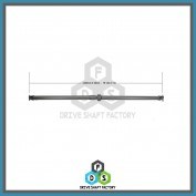 Rear Propeller Drive Shaft Assembly - DSXT06