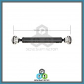 Front Propeller Drive Shaft Assembly - 100-00005