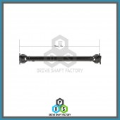 Front Propeller Drive Shaft Assembly - 100-00146