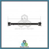 Front Propeller Drive Shaft Assembly - 100-00130