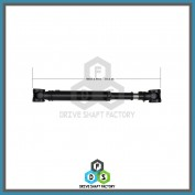 Front Propeller Drive Shaft Assembly - DS4R84
